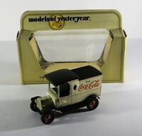 MATCHBOX MODELS OF YESTERYEAR Y12-3 1912 FORD MODEL T COCA COLA ISSUE Diecast