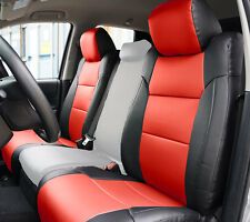 TOYOTA TUNDRA 2007-2017 IGGEE S.LEATHER CUSTOM FIT SEAT COVER 13COLORS AVAILABLE