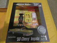American Muscle Diecast 58 1958 Chevy Impala Model Kit 1:64 Scale 2000 MISB