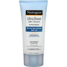 Neutrogena Ultra Sheer Dry touch Sunscreen, SPF 45, 3 Ounce
