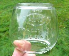 """Vintage DIETZ """"COMET"""" H-10 CLEAR GLASS LANTERN GLOBE"""