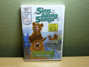 Sing-Along Songs: Brother Bear - On My Way (DVD, 2003) Disney Brand New