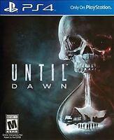 Until Dawn (Sony PlayStation 4, 2015)