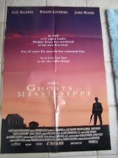 Vintage Movie Poster 1 sh Ghosts of Mississippi 1996 Alec Baldwin Whoopi Godberg
