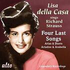CD LISA DELLA CASA SINGS RICHARD STRAUSS FOUR LAST SONGS OPERA ARIAS ARABELLA