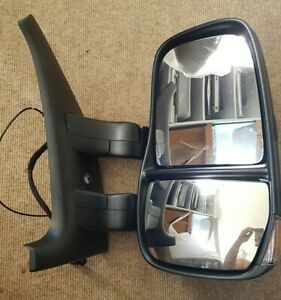 NEW GENUINE IVECO DAILY O/S MIRROR ELECTRIC WITH ANTENA 5801367623