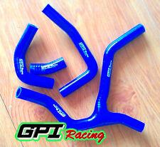 silicone radiator hose for HONDA CRF450 CRF450R CRF 450 R 2013 2014 14 BLUE