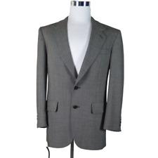 Men's Blazer Sport Coat Kuppenheimer Premier Edition Black White Nailhead 42R