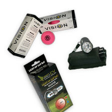 Spaßpaket- From Dusk Till Dawn- Golfbälle Pink LED Golfballfinder Soft Lakeballs