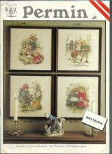 Danish Art Needlework by Permin of Copenhagen Nostalgia Needlework Patterns