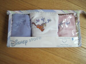New 3 Pack Disney Womens Winnie The Pooh - Tigger Cotton Bikini Panties Small
