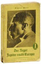 Claire Goll. Neger Jupiter Raubt Europa: Roman. Cheap ed., 1926.
