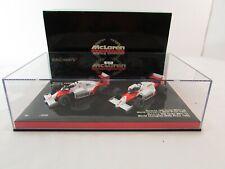 Minichamps 1:43 Limited Of 4999 World Champion Set Alain Prost McLaren 1985 1986