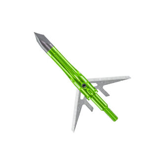 "Muzzy Archery Shank 100 Grain 2-Blade 1-3/4"" Expandable Broadheads 5 Pack"