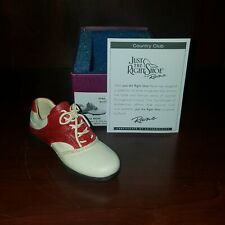 Raine Just the Right Shoe Country Club Coa Box 25534