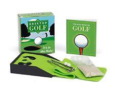 Desktop Golf (Miniature Editions) Paperback By Chris Stone