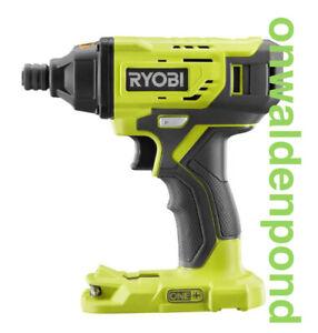 "RYOBI P235 P235A GENUINE 1/4"" HEX ONE+ 18V IMPACT DRILL DRIVER TOOL NEW"