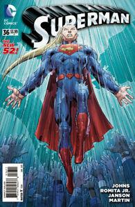 Superman #36 (2014) / US-Comic Bagged & Borded / 1st Print