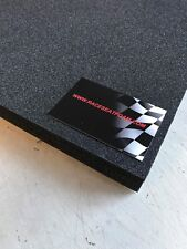Motorcycle Race Seat Foam 20mm Thick, Self Adhesive, 600mm x 300mm
