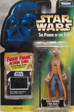 Star Wars: POWER OF THE FORCE FREEZE Marco SAELT MARAE YAK FACE FIGURA DE ACCIÓN