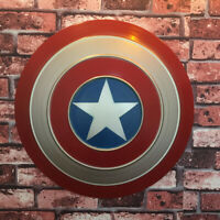 Avengers Captain America Full Metal Shield Replica Iron Replica Cosplay Prop Toy