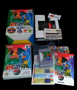 POKEMON POCKET MONSTERS STADIUM + TRANSFER PAK 64GB Nintendo 64 N64 JAP