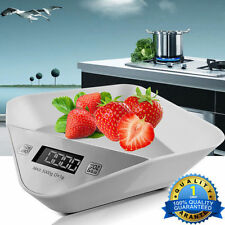 LCD 5kg 11lbs Digital Portable Kitchen Scale Electronic Weight Balance Diet Food