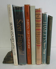 Lot of 7 Vintage Author Biographies & Literary Criticism; Emerson, Alcott etc