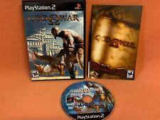God of War 1 Playstation 2 PS2 Black Label Game Complete!