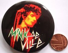 "MINK DE VILLE Vtg 1970s Very Large Button Pin Badge(2.5""-63mm)Frying Pan"