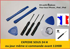 KIT OUTILS TOURNEVIS IPHONE 3 4 5 6 7 8 X IPAD DEMONTAGE REPARATION - 9 PIECES
