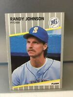 💥1989 Fleer Update Randy Johnson #U-59 RC Rookie Card GEM MT Mariners💥