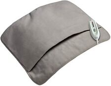 Serta Ultra Soft MicroPlush Electric Heated Foot Warming Pad Gray