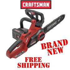 New CRAFTSMAN 24V Volt 10 Inch CORDLESS CHAINSAW & CHARGER Max Li-Ion Battery