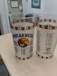 2016 Preakness Stakes Glasses Set Of 6