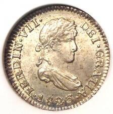 1823-Pts Pj Bolivia Ferdinand Vii Half Real (1/2R Coin) - Ngc Ms65 (Gem Bu Unc)