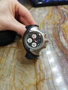 Rare Oakley Chronograph Mens  Watch Analog