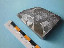 Meteorito Campo del Cielo, puesto en el troquelado, eisenmeteorit