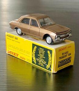 Dinky toys 1452 Peugeot 504 Spain