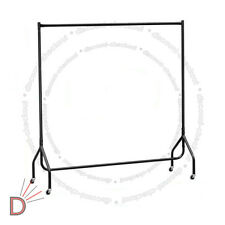 Heavy Duty 5ft Home Dress Garment Clothes Hanging Display R354 Rail Steel Rack