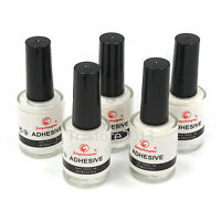 5PCS - 8ML Glue Adhesive for Galaxy Star Foil Sticker Nail Art Transfer Tips