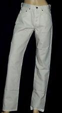 Pantalon blanc CHESTERFIELD LEGEND coupe droite avec boutons Taille 40