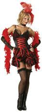 Womens Sexy Dance Hall Darlin Deluxe Burlesque Adult Saloon Girl Costume Medium