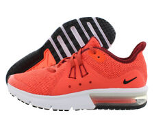 Nike Air Max Sequent 3 Gs Girls Shoes Size 7, Color: Team Red/Black/Total