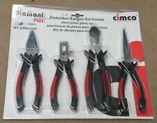 Cimco 104020 VDE Zangen-Set 4-teilig