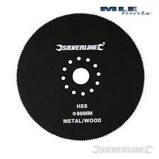 Silverline Multi Tool Circolare cutter 80mm Per Bosch Fein Worx DREMEL 156711