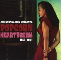 JAY STRONGMAN PRESENTS - POPCORN HEARTBREAK '58-'64 2X VINYL LP (NEW/SEALED)
