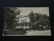 THE WRIGHT CORNER IN OCEAN GROVE N.J. 104 HECK AVENUE 1960 - POSTCARD