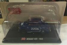 "DIE CAST 1000 MIGLIA "" RENAULT 4CV - 1954 "" + BOX 2 SCALA 1/43"