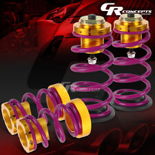 """1""""-4"""" HEIGHT ADJUSTABLE W/PURPLE SPRING SUSPENSION COILOVERS KIT FOR 06-11 CIVIC"""